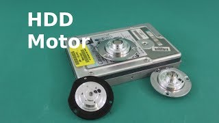 Run a Hard Drive Brushless Motor Without Driver