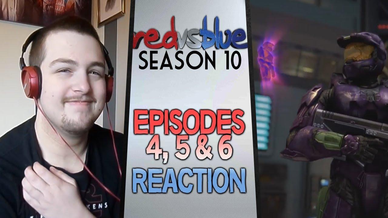 Download Red vs. Blue Season 10 Episodes 4 - 6 Reaction