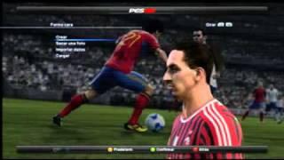 PES 2012-Ibrahimovic face & boot Thumbnail