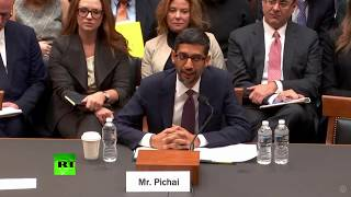US representative: If you google idiot, you get Trump... Google: Not us!