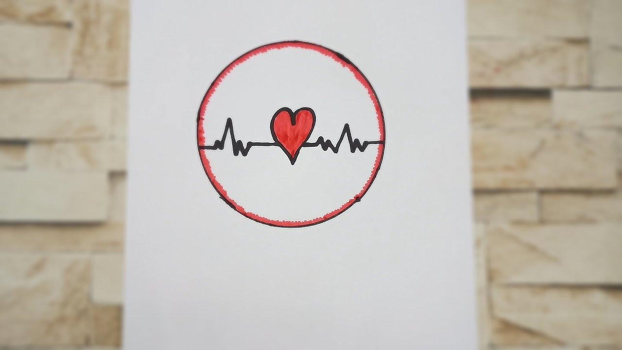 رسم قلب بالرصاص في نبضات Lazcy Blog