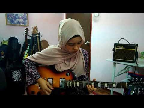 She's Gone Intro & Solo Guitar - Nureen Qistina