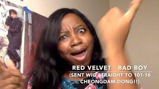 Red Velvet (레드벨벳) -  Bad Boy MV Reaction