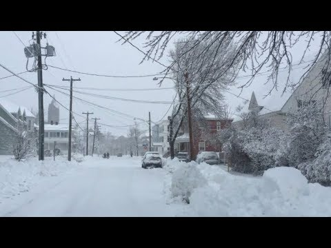 Widespread power outages as winter storm batters Atlantic Canada