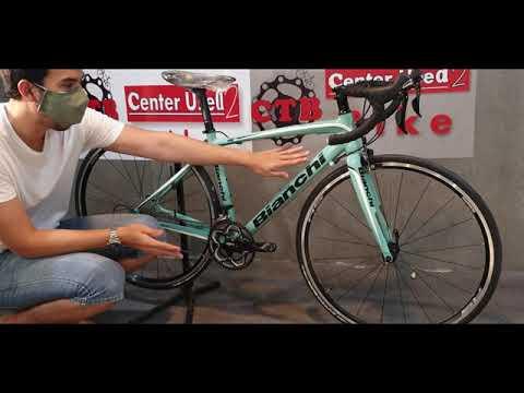 รีวิวจักรยานเสือหมอบ Bianchi  impulso ชุดขับ105 สีเขียวมิ้น