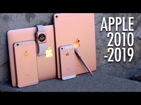 10 Years Of Apple In 10 Minutes