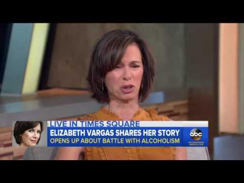 Elizabeth Vargas Talks Alcoholism, New Memoir