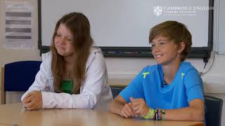 Cambridge English: Key for Schools, Sharissa and Jannis(Read examiner's comments here http://www.cambridgeenglish.org/images/149448-ket-for-schools-examiner-s-comments.pdf This includes comments on the ..., 2013-09-19T14:49:44.000Z)