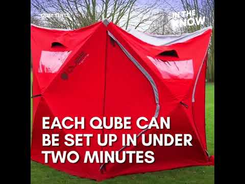 The Qube tents connect with each other for the ultimate c&ing experience  sc 1 st  YouTube & The Qube tents connect with each other for the ultimate camping ...