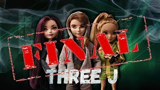 "Сериал ""Three J"" 16 серия: финал истории//stop motion Monster high, Ever After high"