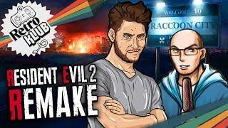 Simon & Gregor spielen Resident Evil 2 Remake | Retro Klub
