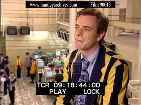 Ewan McGregor talks about Nick Leeson and Rogue Trader Feature -- Film 90013