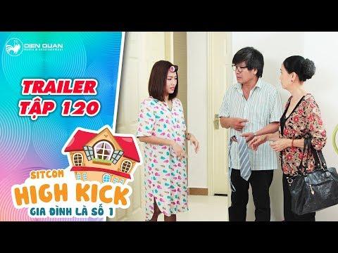Gia đình là số 1 sitcom | trailer tập 120: Diệu Hiền thốt tim vì ba mẹ đến chơi không đúng lúc?