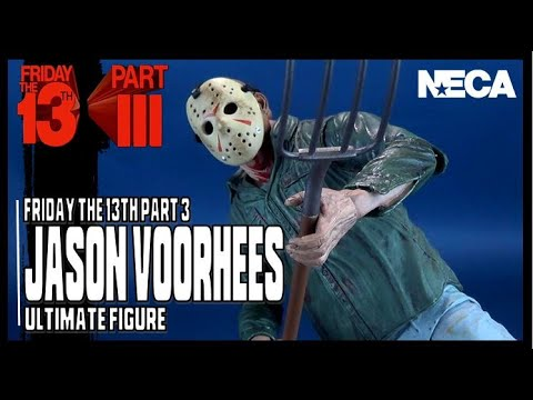 NECA Friday The 13th Part 3 Ultimate Jason Voorhees | Video Re Review HORROR