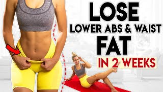LOSE LOWER ABS and WAIST FAT in 2 Weeks 7 minute Home Workout