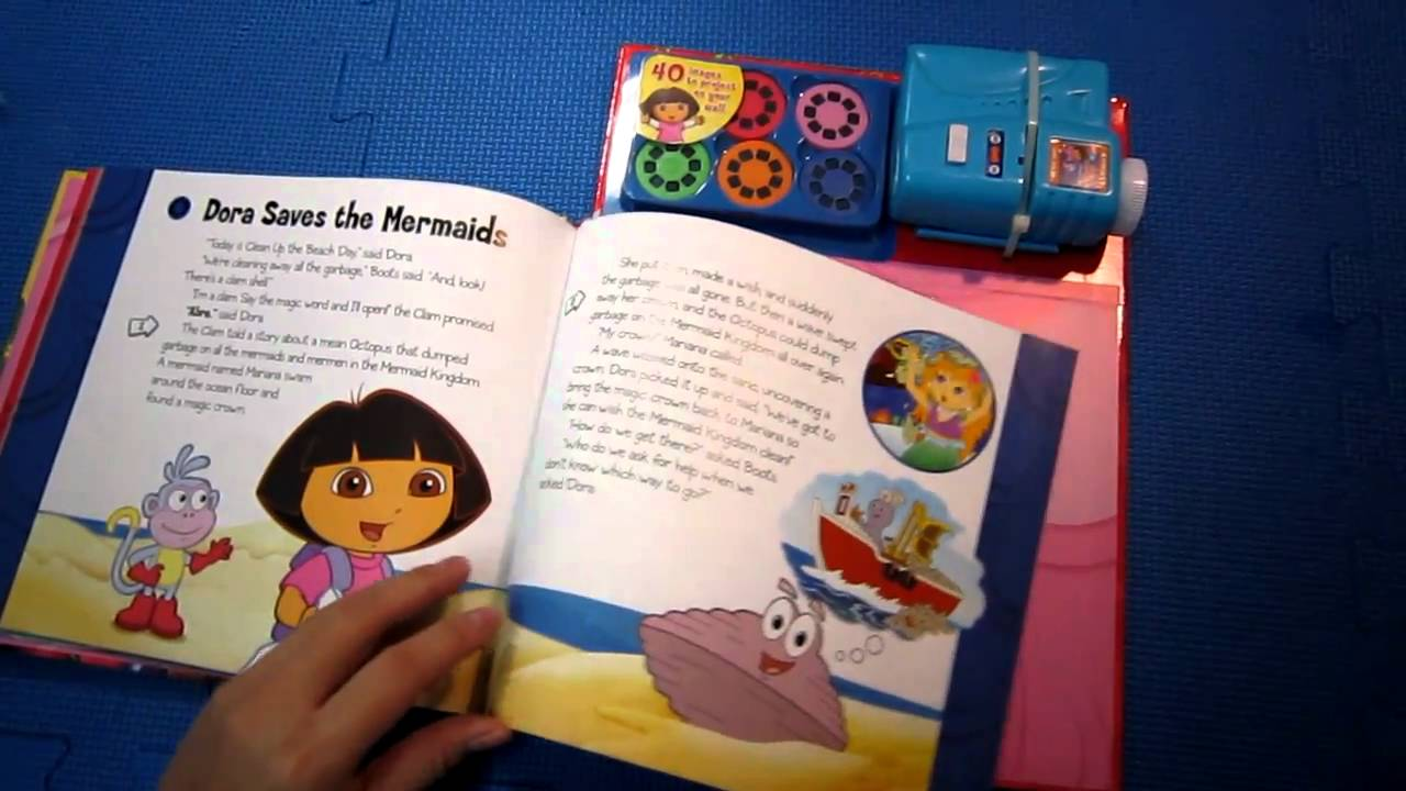 dora the explorer movie theater storybook amp movie