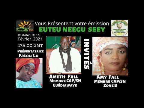 Emission Euteu Neegu Seey avec Mme Fatou Lo THEME Impuissance Sexuelle Invide Amath Fall et Amy Fall