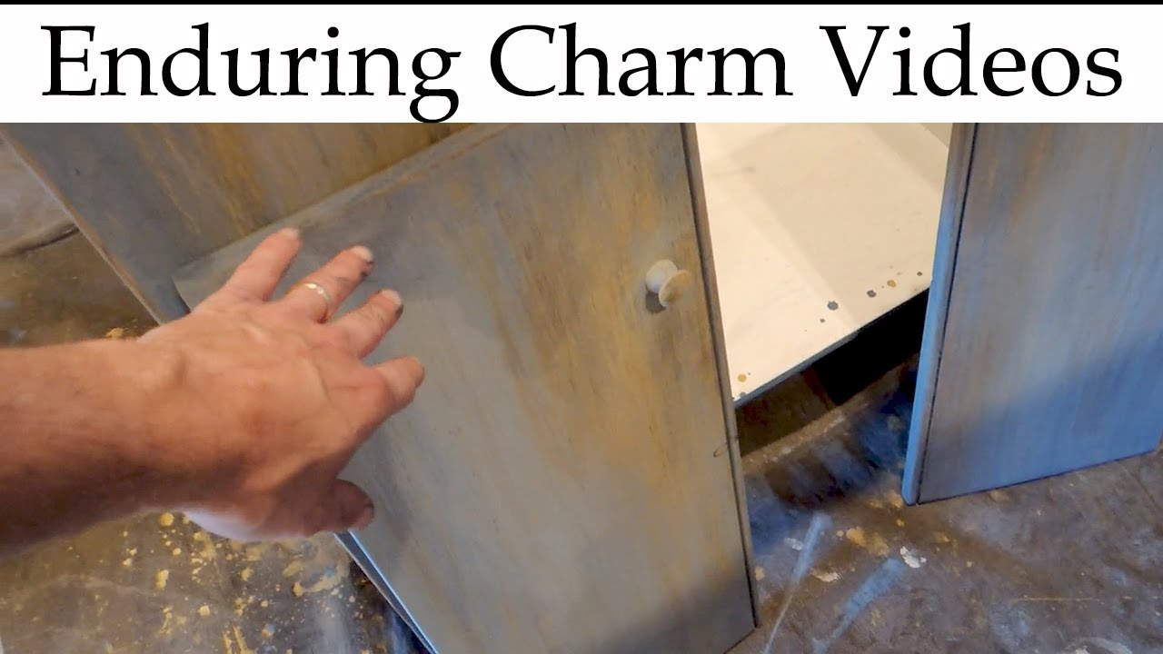 Distressed Finish For Primitive Furniture - Distressed Finish For Primitive Furniture - YouTube