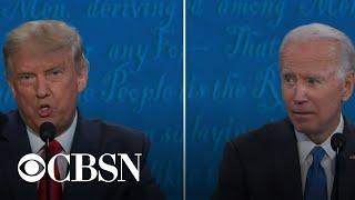 Trump and Biden debate their climate and environmental policies