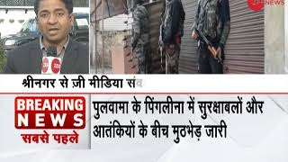 Encounter between security forces and terrorists in J&K kills 4 soldiers