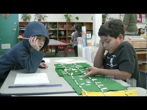 Meher Montessori School Elementary classroom videos