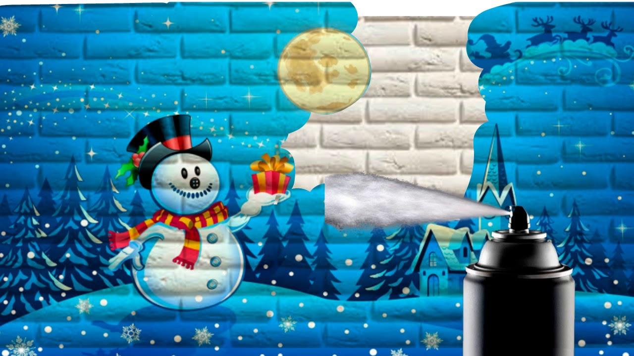 граффити поздравления с новым годом этом достопримечательности лахденпохьи