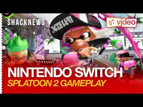 Nintendo Switch: Splatoon 2 Gameplay