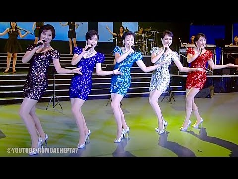 North Korean Moranbong Band: 배우자 - Let's study (English Translation)