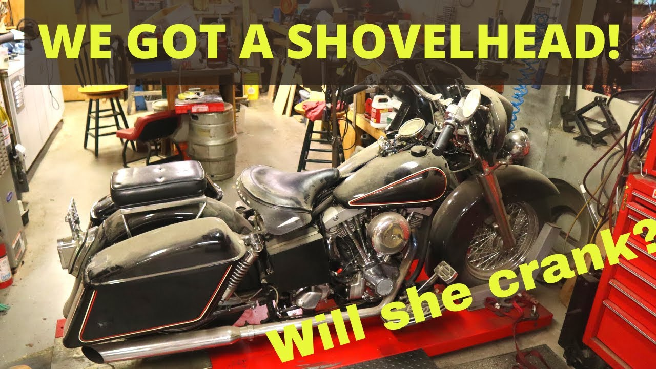 Vintage Shovelhead l Will it Crank? l Budget Rebuilds