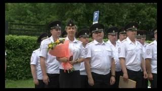 Начальник УМВД по Калужской области вручил сотрудникам ключи от новых служебных автомобилей