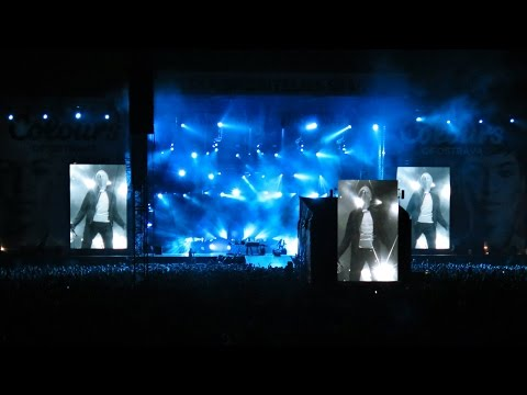 Underworld - Push Upstairs (Live at Colours of Ostrava 2016 - Total Footage)