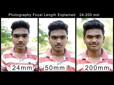 Focal Length Explained  24-200mm images | Photography tutorials in hindi thumbnail