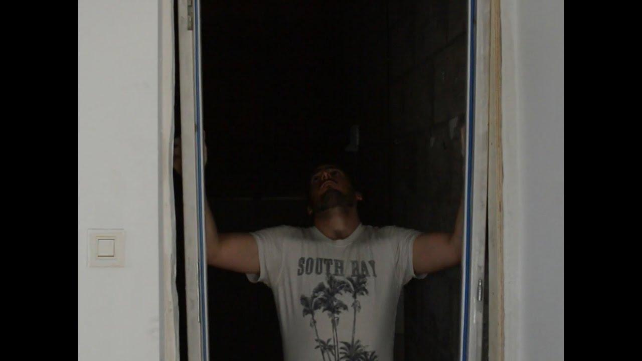 Pose Porte Isolante Entre Garage Et Cellier