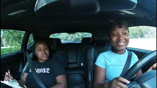 WE GAVE OUR LITTLE SISTER A OFFICIAL DRIVING TEST!! (EXTREMELY CRAZY RIDE)