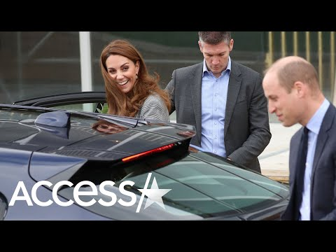 Kate Middleton Shares Sweet Smile With Prince William After Awkward Stumble