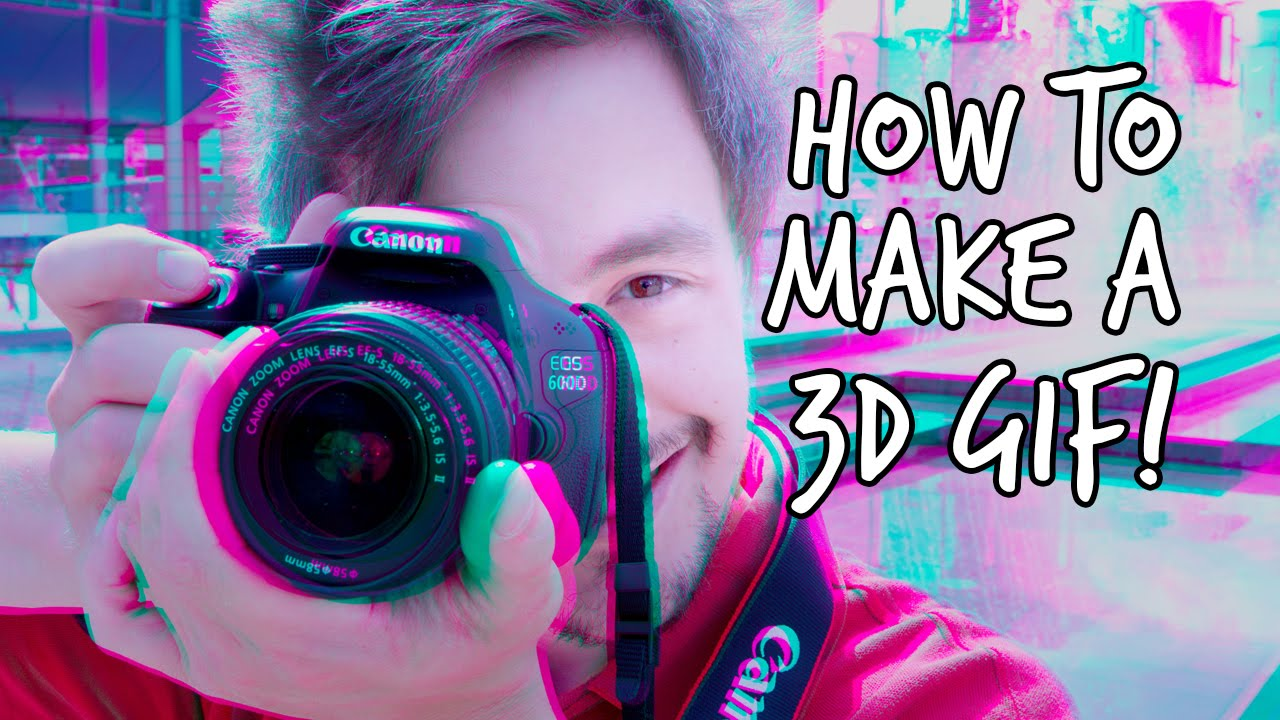 How to make a 3D photo