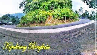 Fantastic!! beautiful indonesia mountain road driving Kepahiang to Bengkulu 40 minutes