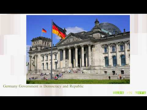 Let's study about Germany [Engsub] | Kids n Toys | Kids knowledgeable, intelligent,and  apprehensive