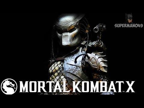 """I LOVE THIS CHARACTER SO MUCH! - Mortal Kombat X """"Predator"""" Gameplay"""