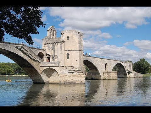 Places to see in ( Avignon - France ) Pont Saint Benezet
