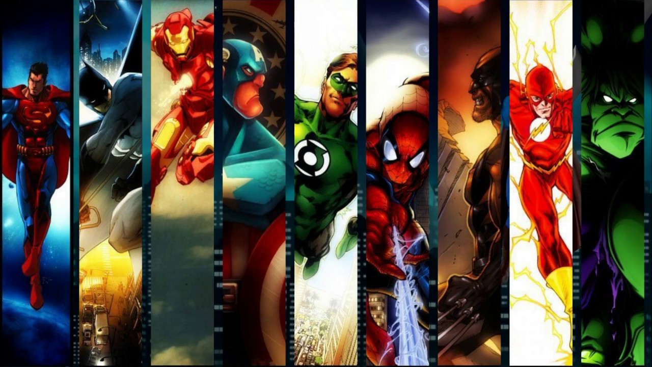 Convite Digital Super Heróis Youtube
