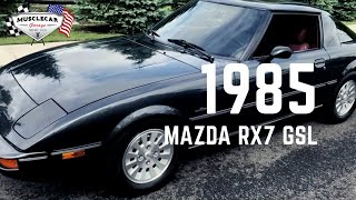 1985 Mazda RX7 GSL FOR SALE - Muscle Car Garage - New Jersey