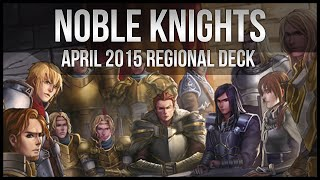 Noble Knights | April 2015 Regional Yu-Gi-Oh Deck Profile