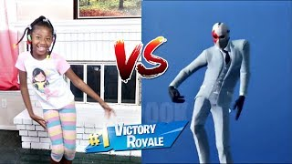 FORTNITE DANCE CHALLENGE! - (In Real Life) | LACY'S FILES