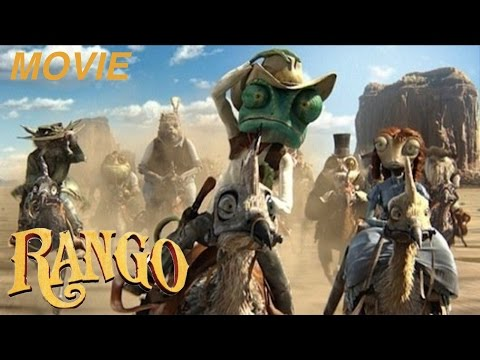 "RANGO - ""THE CHAMELEON SHERIFF"" -""THE MOVIE"" Let's Play Walkthrough -(XBOX360)"