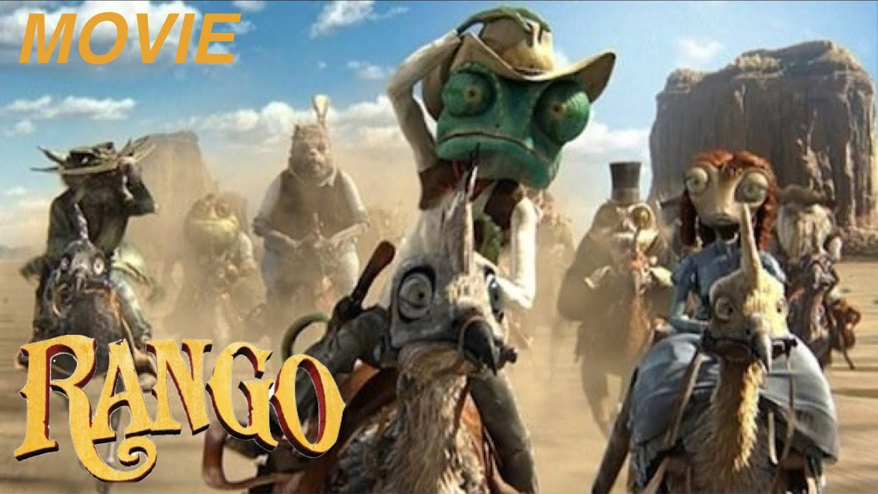 "Ver RANGO – ""THE CHAMELEON SHERIFF"" -""THE MOVIE"" Let's Play Walkthrough -(XBOX360) en Español"