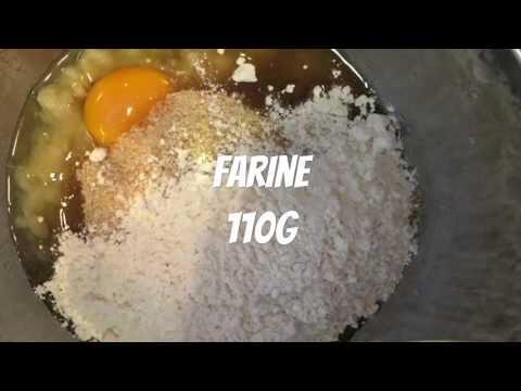 recette-gateau-renversé-banane-rhum-raisins