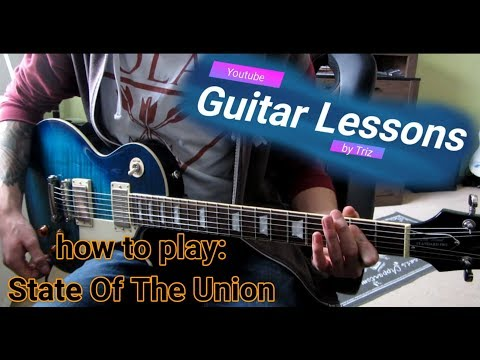 how to play: State Of the Union by Rise Against