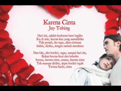 Karena Cinta - Joy Tobing