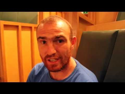 THE PRIDE OF DUBLIN ANTHONY FITZGERALD POST WEIGH IN INTERVIEW / MGM MARBELLA - DUBLIN